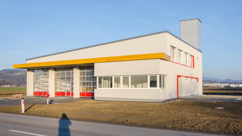 Baufortschritt des neuen Feuerwehrhauses