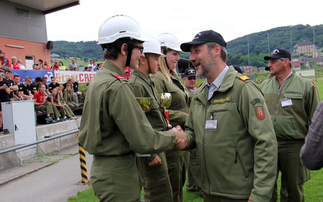Tolle Leistungen beim Bewerb in Steyregg