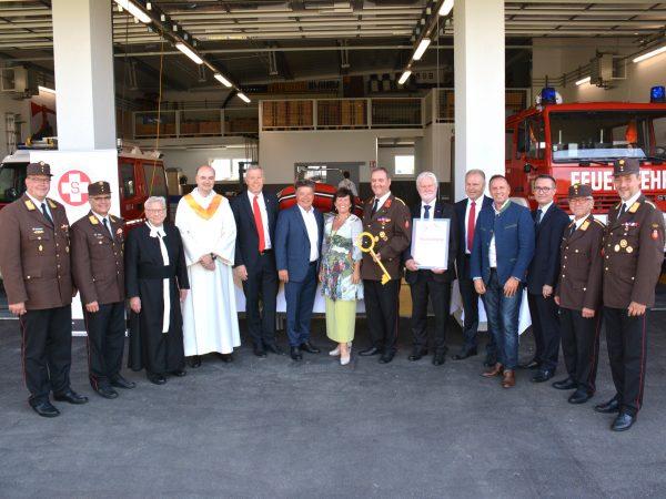 Feuerwehrhaus-Segnung-Rettungsfahrzeug-Eröffnung (1)
