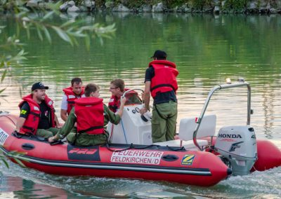Wasserwehrübung-Donau-Landshaag (1)