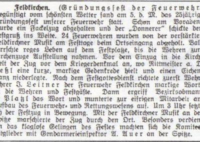 Geschichte-Zeitungsausschnitt-1925-Gründungsfest
