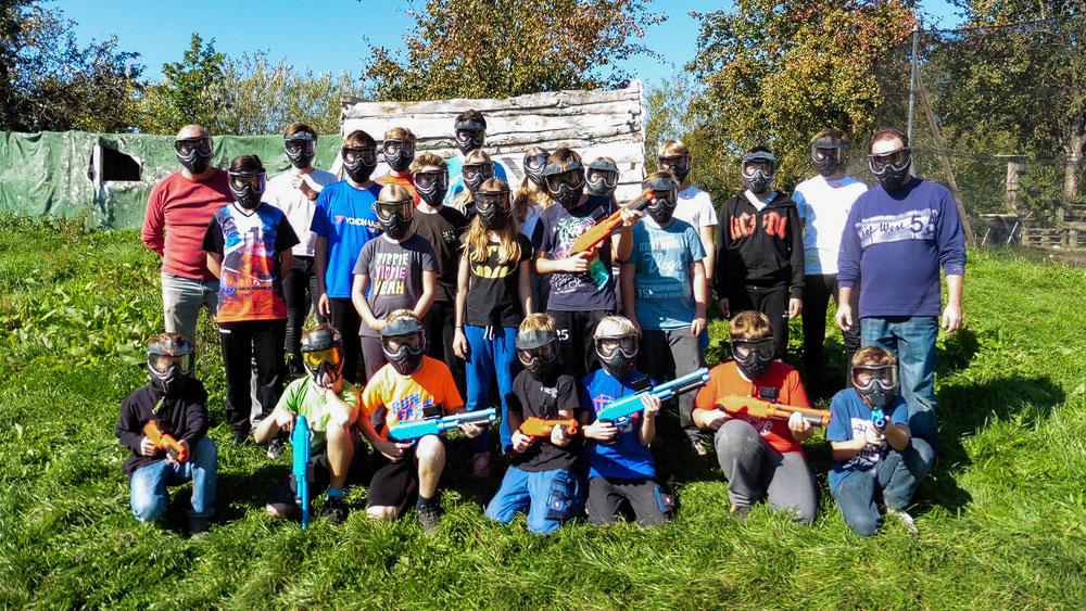 Paintball-Tag mit der Jugendgruppe!
