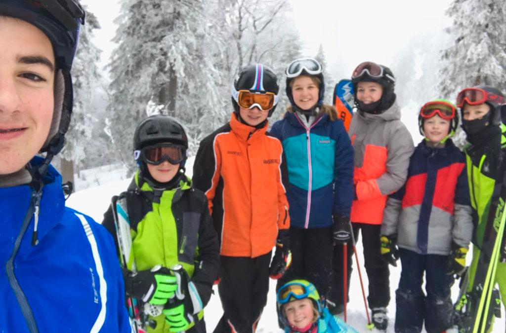 Wintersport unserer Jugend am Hochficht