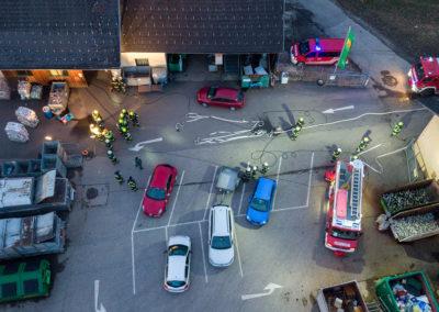 Brandeinsatzübung-Altstoffsammelzentrum-Landshaag (2)