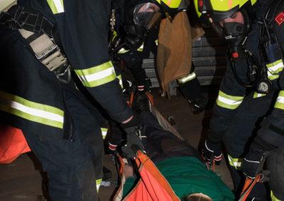 Brandeinsatzübung-Altstoffsammelzentrum-Landshaag (6)