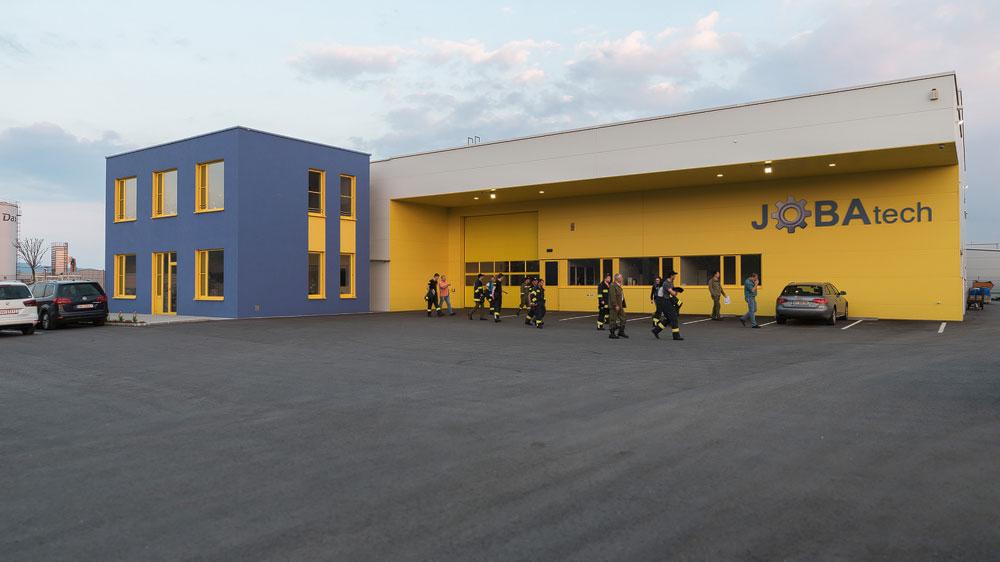 Betriebsbesichtigung JOBAtech GmbH