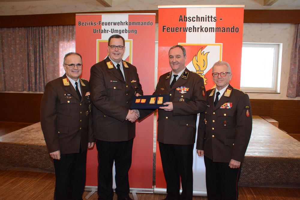 Kurt Reiter wird zum Abschnitts-Feuerwehrkommandanten gewählt