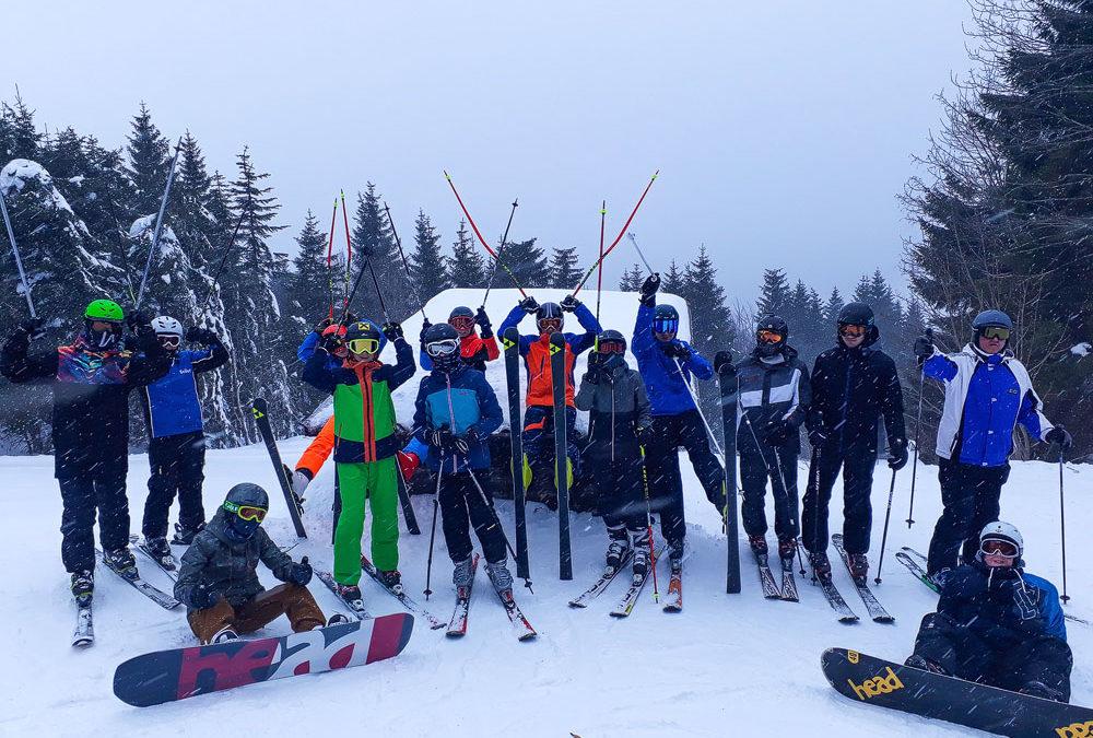 Traditioneller Skitag am Hochficht