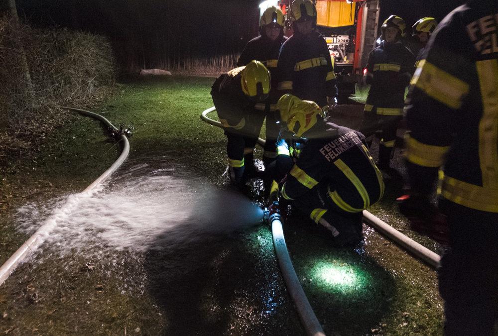 Übung zur Wasserförderung