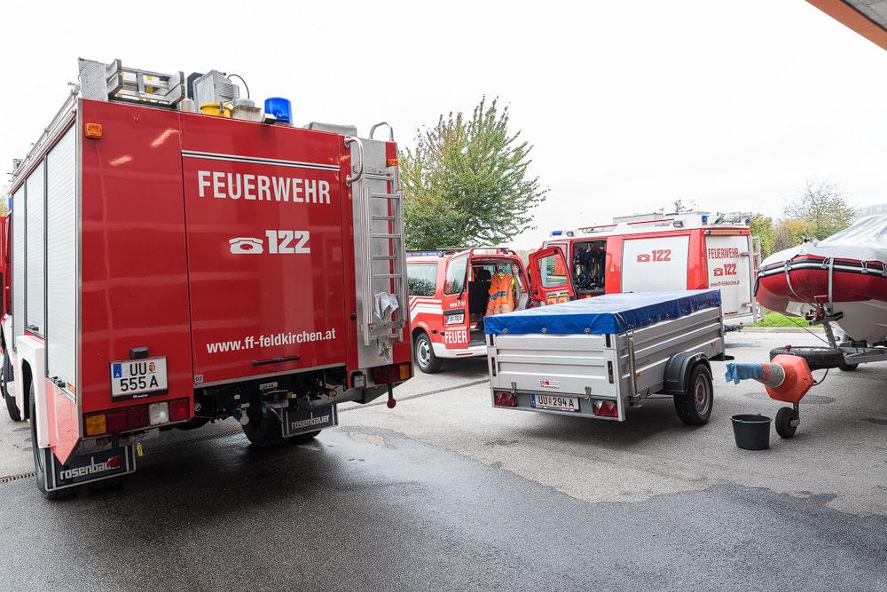 Alljährlicher Herbst-Putz im Feuerwehrhaus