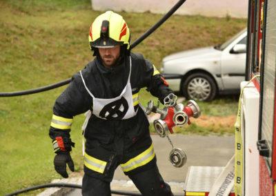 Branddienstleistungsprüfung-Maschinist