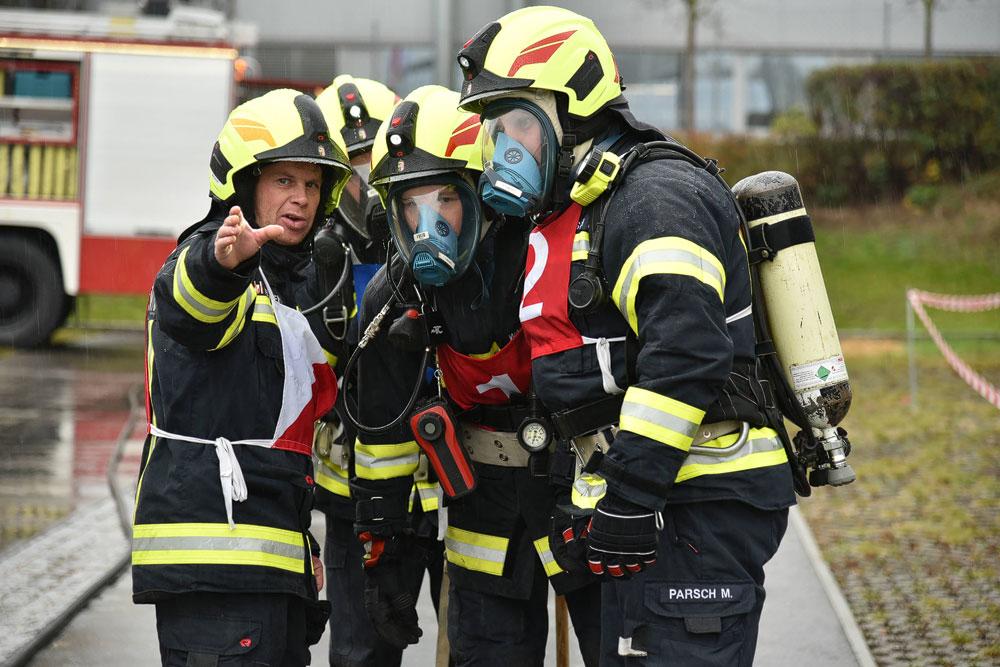 Branddienstleistungsprüfung: Erfolgreiche Teilnahme