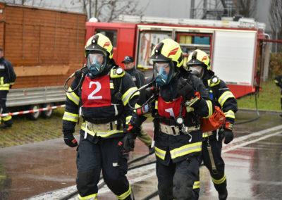 Branddienstleistungsprüfung-Atemschutz