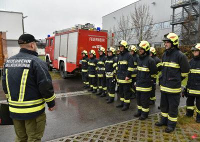 Branddienstleistungsprüfung-Gruppenfoto