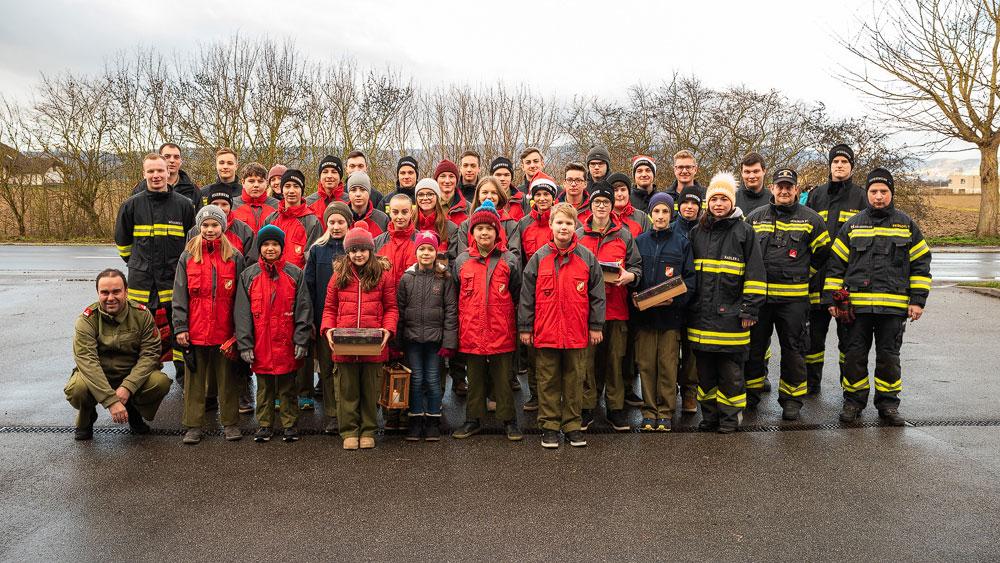 Weihnachten bei der Feuerwehrjugend