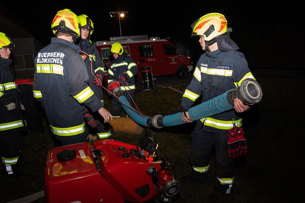 Gruppenübung: Feuer und Flamme