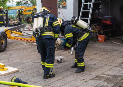 Werkstattbrand-Übung-Oberhart (7)